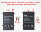 Jumper HW-35100220, NT14C 3.7V 10000mAh original batteries