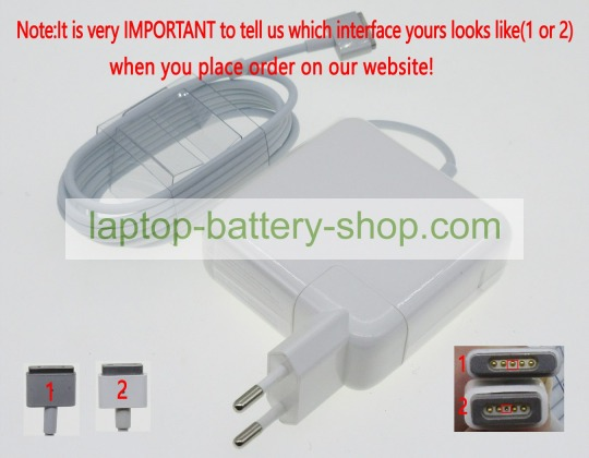 Apple A1184, 661-4269 16.5V 3.65A replacement adapters - Click Image to Close