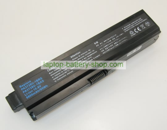 Toshiba PABAS228, PABAS178 10.8V 8800mAh replacement batteries - Click Image to Close