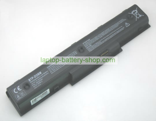 Medion 40036340, BTP-DOBM 14.4V 4400mAh replacement batteries - Click Image to Close