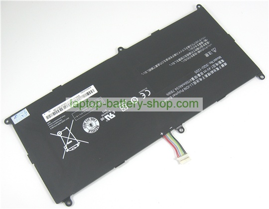 Mitac SQU-1205 7.4V 4700mAh original batteries - Click Image to Close
