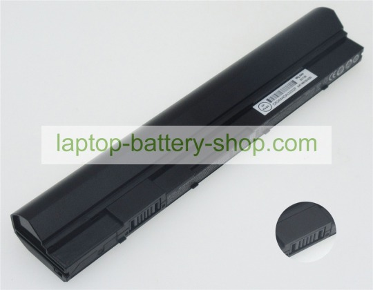 Clevo W510BAT-3, 6-87-W510S 11.1V 2800mAh original batteries - Click Image to Close