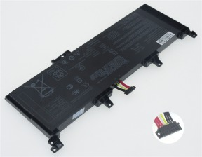 Asus C41N1531, 0B200-01940100 15.2V 4020mAh original batteries