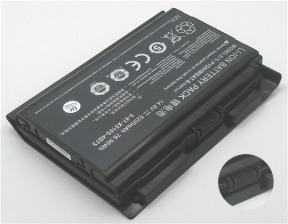 Clevo P150HMBAT-8, 6-87-X510S-4D72 14.8V 5200mAh replacement batteries
