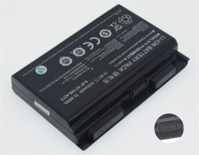 Clevo P150HMBAT-8, 6-87-X710S-4271 14.8V 5200mAh replacement batteries