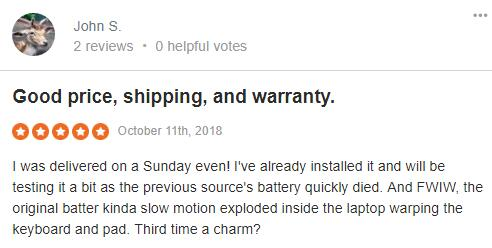 laptop battery review